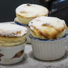 ESSE baked Lemon soufflés