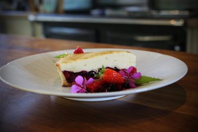 ESSE baked tart chiboust with summer fruits