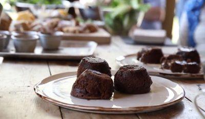 ESSE cooked chocolate fondants