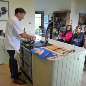 Matt Tebbut ESSE 990 EL cookery demo