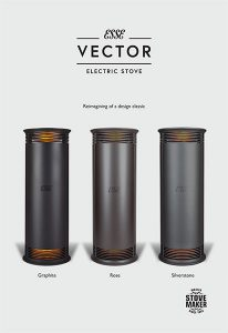 ESSE Vector stove brochure cover