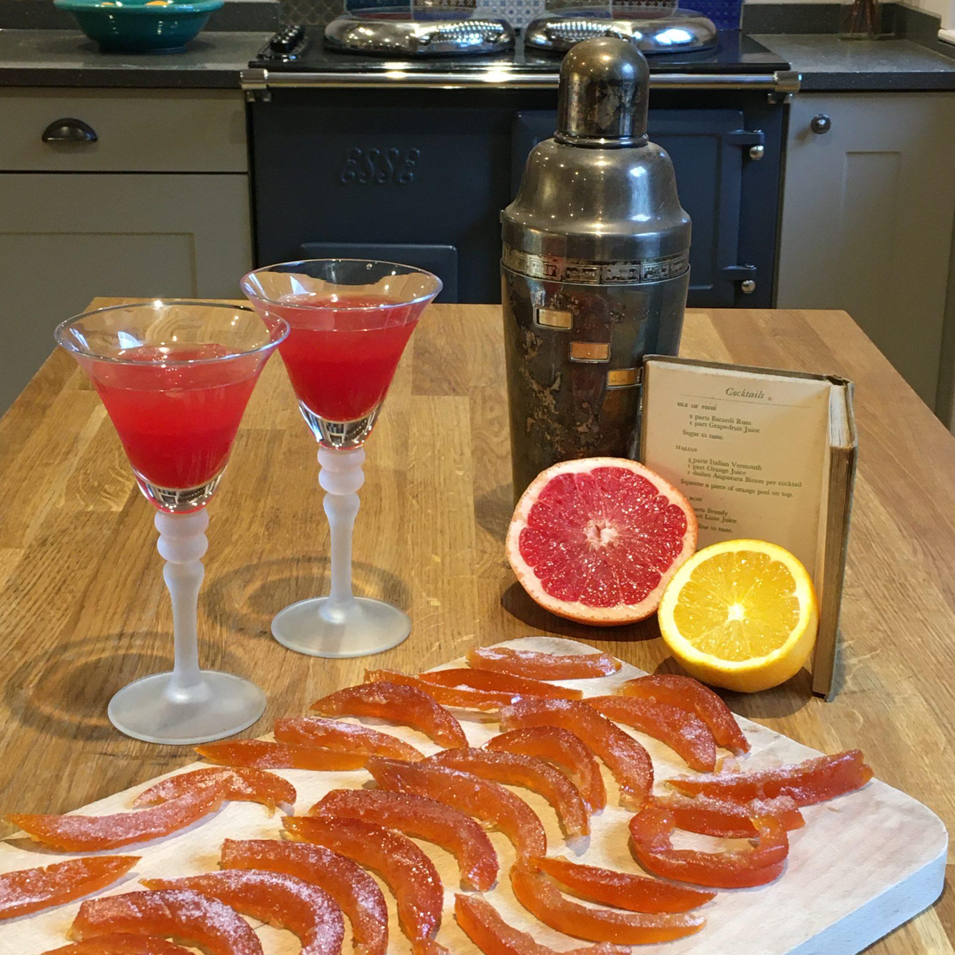 Campari With Fresh Grapefruit Juice Recipe